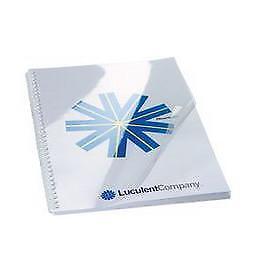 50789 100 COPERTINE HI-CLEAR 200MIC A4 TRASPARENTE NEUTRO