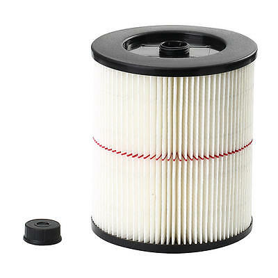Craftsman General Purpose Red Stripe Vac Cartridge Filter 17816 for 5+ Gallon