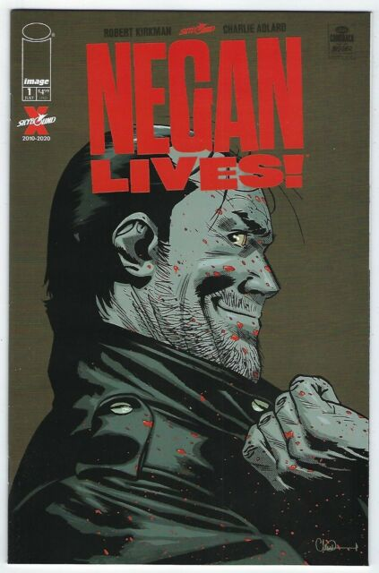 Negan Lives # 1 Cover A 1st Print NM Walking Dead
