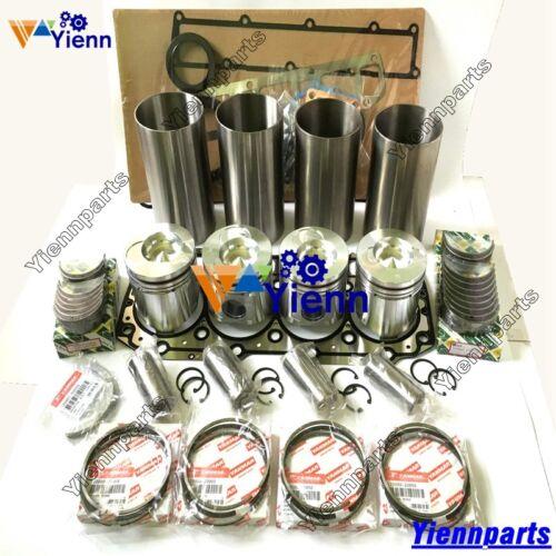 S4D106 4TNE106T Overhaul Rebuild Kit For Yanmar Engine Komatsu Excavator Repair