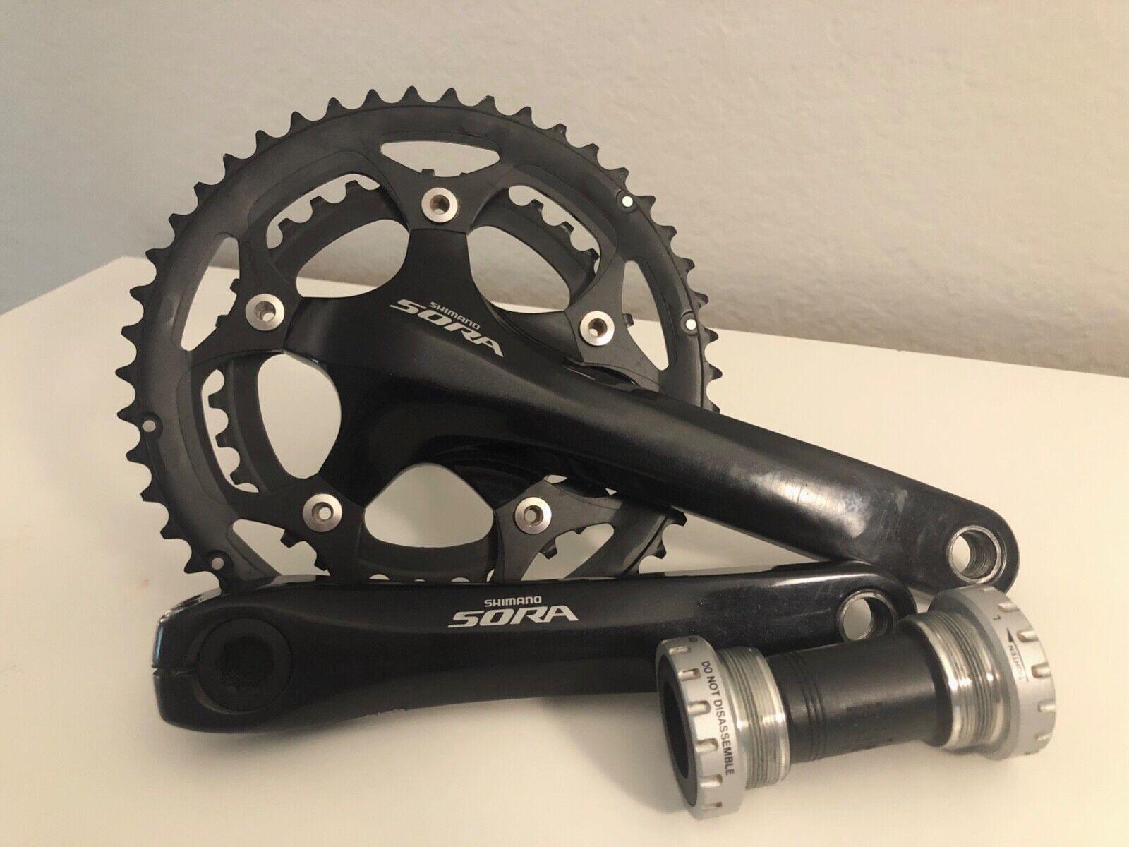 FSA Vero Road bike Compact Crankset 172.5mm 9 Speed 50T 34T 110BCD Square Taper