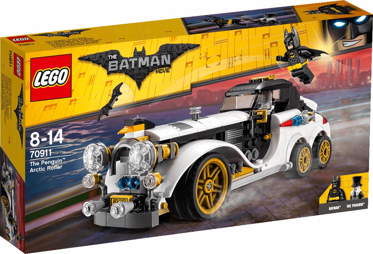 LEGO THE BATMAN MOVIE THE PENGUIN ARCTIC ROLLER 70911 NUEVO PRECINTADO SIN ABRIR