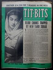 Tit-Bits 18th March 1950 10,000 CROOKS TRAPPED BY NEW YARD SQUAD