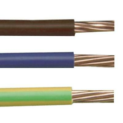 6491X 16MM G//Y EARTH CABLE PVC 100M GREEN AND YELLOW SINGLES