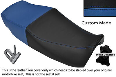 BLACK /& ROYAL BLUE CUSTOM FITS HONDA VF 1000 F 84-85 INTERCEPTOR DUAL SEAT COVER