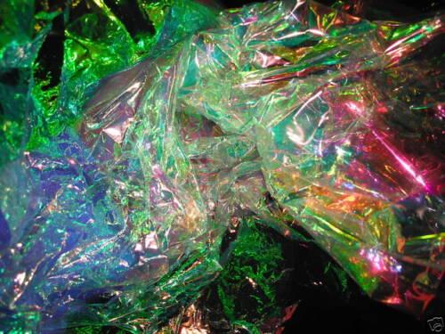 "D00537  Magical Film 5ft X 20/"" Kaleidoscope//OOAK//Crafts"