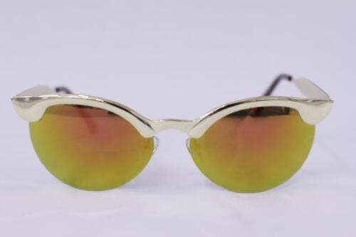 Cat Eye Sonnenbrille voll metall verspiegelt Rockabilly 488