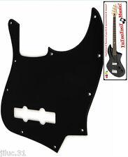 NEW PICKGUARD Jazz Bass black 1 ply pour Fender ou autre JBass etc