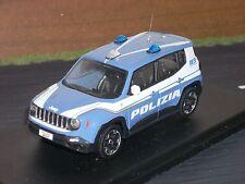 POLIZIA POLICE Jeep Renegade reparto prevenzione crimine scala 1/43
