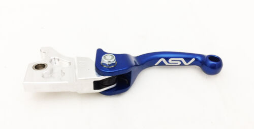 ASV F3 Holiday Pro Pack Shorty Blue Unbreakable Brake Clutch Levers Yamaha