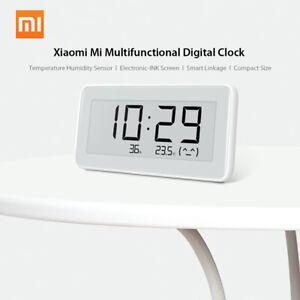 Details about Xiaomi Mi Multifunctional Digital Clock E-INK Screen  Temperature Humidity Sensor