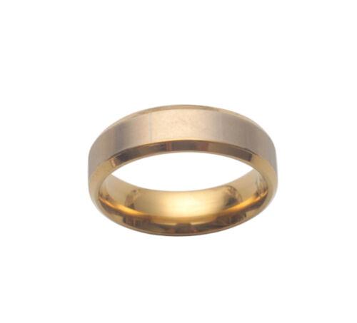 3PCS Fashion Golden Stainless Steel Forever Love Lover Ring