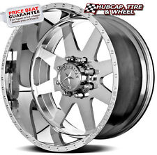 "AMERICAN FORCE INDEPENDENCE SS8 POLISHED 24""x12 WHEELS RIMS 8 LUG (set of 4) NEW"