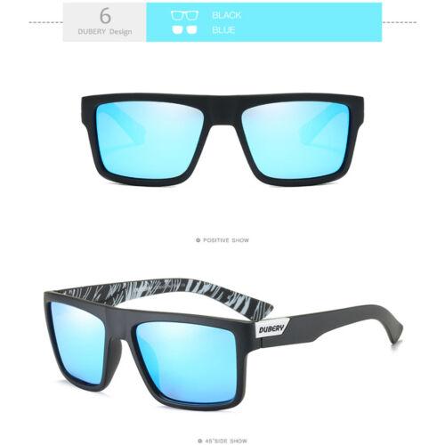 DUBERY Herren Sonnenbrille Polarisiert Brillen Sport UV400 Pilotenbrille Neu