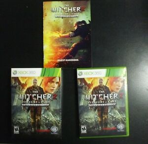 Details about Replacement Case (NO GAME)WITCHER 2 ASSASSINS OF KINGS  ENHANCED EDITION XBOX 360