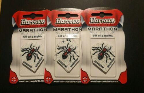 Harrows Marathon Ultra Strong Dart Flights X 3 Sets