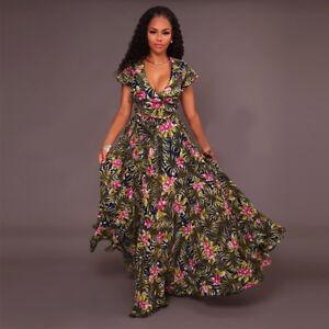 Bohemian Chiffon Maxi Dress