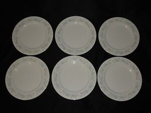6-Libbey-Tableware-10-1-2-034-Dinner-Plates-W-Pinecones-Branches-amp-Gold-Trim-Edge