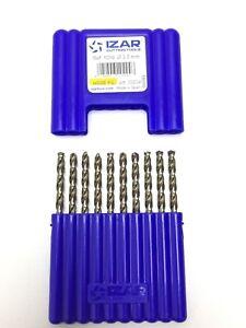 Batch-of-10-Bit-Metals-7-2-Hss-Co-5-Cobalt-for-Stainless-Steel-Titanium-Izar
