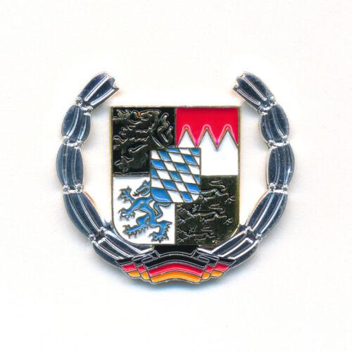Freistaat Bayern Wappen München Deutschland Flagge Badge Edel Pin Anstecker 0909