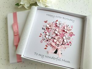 Super Birthday Card Handmade Personalised 20Th 30Th 40Th 50Th 60Th 70Th Personalised Birthday Cards Veneteletsinfo