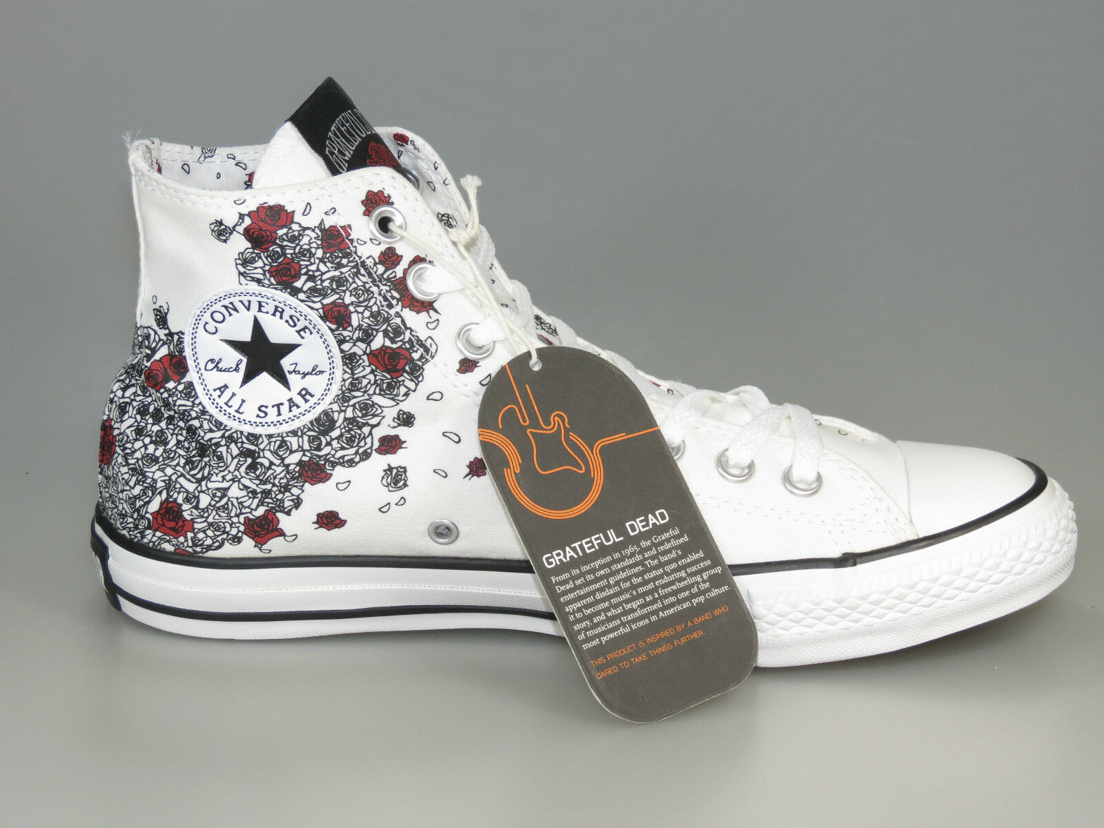 CONVERSE GRATEFUL DEAD Ribbon Chucks 109962 Mouse Hi Limited +NEW+ Various Sizes