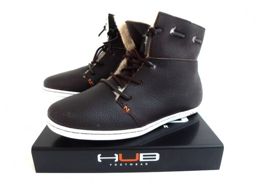 Hub Damen Schuhe Macy L  dunkelbraun flauschig gefüttert Neuware Kollektion 2012