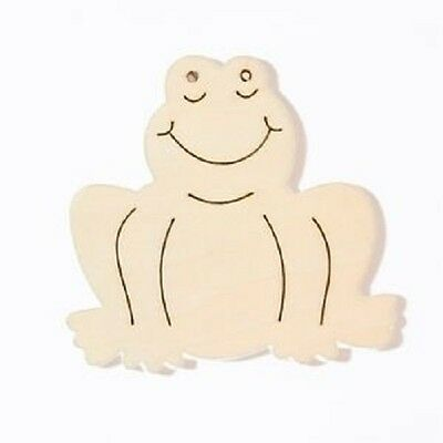 6CM CHRIST-CHILD 2414 REDUCED CLEARANCE 12 WOODEN SHAPES ORNAMENTS APPROX