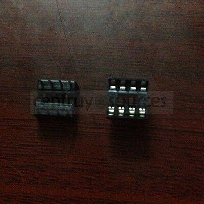 100PCS 8 pin 8P DIP IC Sockets Adaptor Solder Type Socket