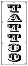 """36""""x96"""" TATTOO BANNER BANNER SIGN (Vertical) tattoos shop artist piercing"""