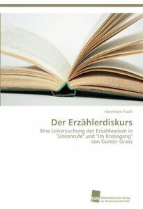 Der-Erzahlerdiskurs-by-Hannelore-New-9783838137452-Fast-Free-Shipping
