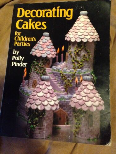 1 of 1 - Decorating Cakes for Children's Parties by Polly Pinder Good Condition