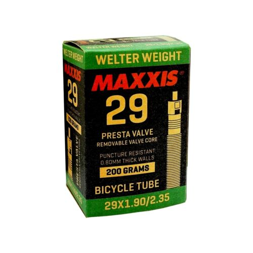 1 to 6 tubes Maxxis Welter Weight 29 x 1.90-2.35 Presta 0.8mm thick Inner Tube