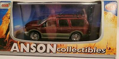 Anson Models 1 43 Ford Excursion Red Ebay