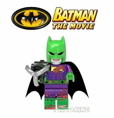 HARVEY DENT TWO FACE RED NEW BATMAN MOVIE B4 fits lego figure