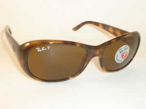 32c97ca14c New RAY BAN Sunglasses Tortoise Frame RB 4061 642 57 Polarized Brown ...
