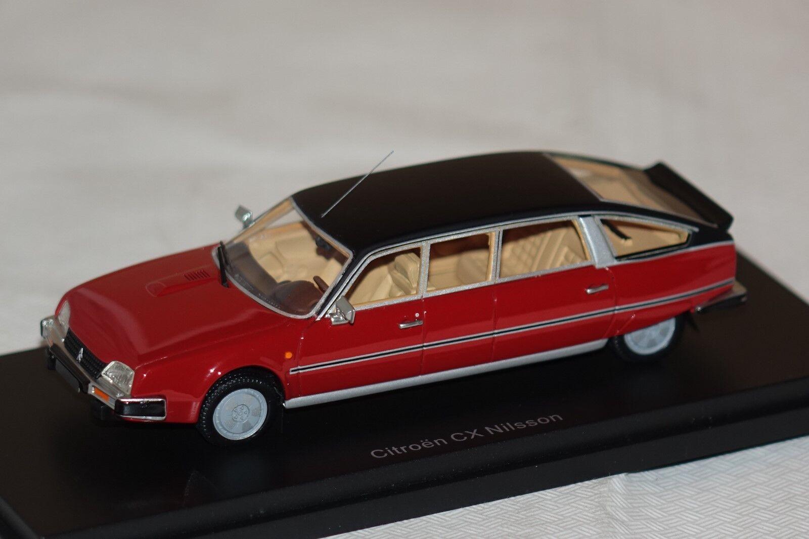 Citroen CX Nilsson rot-schwarz 1 43 BoS 43336 neu & OVP