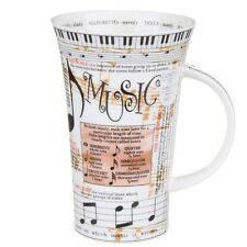 Music Design Glencoe Shape Fine Bone China Mug - by Dunoon