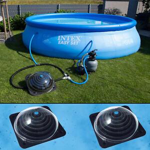 2 x Poolheizung für Pool Solarheizung Schwimmbadheizung ...