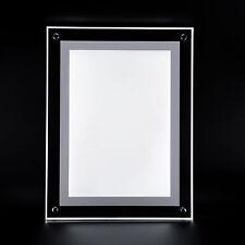 Bilderrahmen LED 5W Acrylglas Bildelampe Wand  Bilderrahmen LED DIN A4 360504