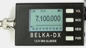 BELKA-DX Shortwave SDR Receiver - Built in Speaker - UK Stock
