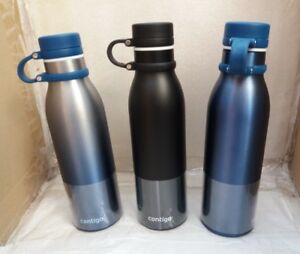 Contigo Thermalock Stainless Steel 591ml Water Bottle Vacuum Insulation Flask