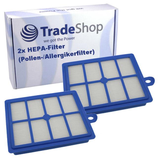 2x HEPA-Filtre h13 pour Philips Silentstar Specialist Studio Universe