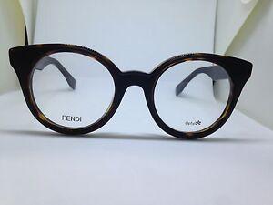 Round Lentes Vista Rotondi Occhiali Donna Glasses Fendi Brille Woman Da Ff0198 wvqftxxFY