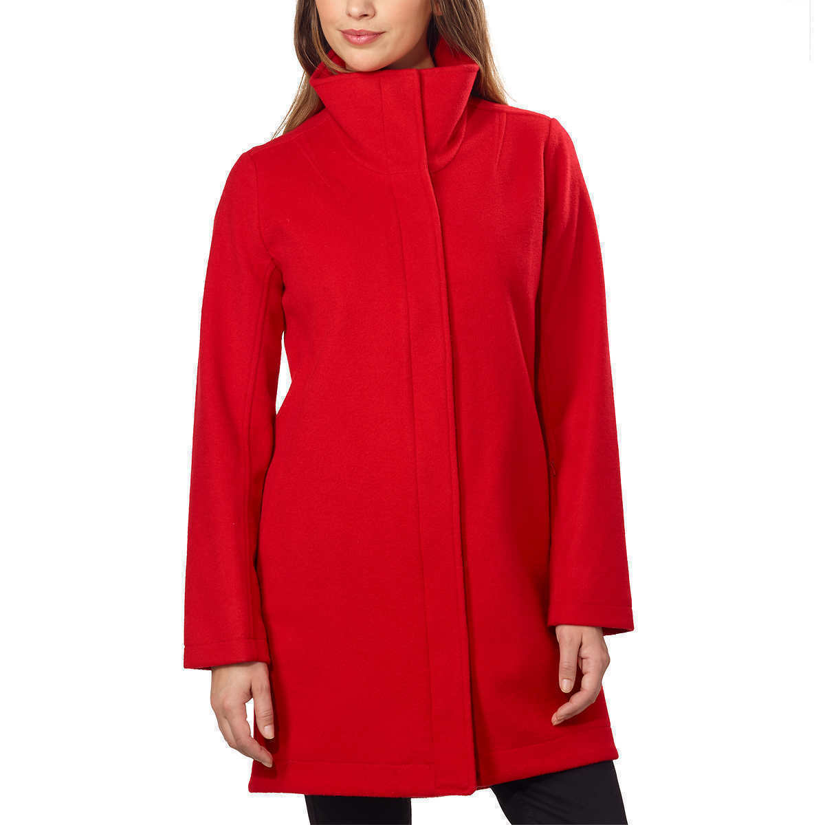 NEW Pendleton Women's Water Resistant Cascade Wool Campbell Coat - RED, XL