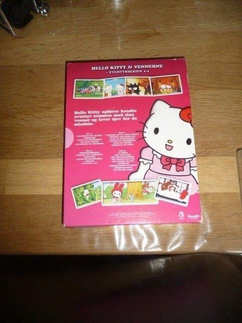 Hello Kitty & vennerne, DVD, tegnefilm