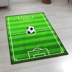 Football Pitch Floor Rug Nurcery Boys