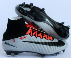 Details about NIKE MERCURIAL SUPERFLY V FG ID (872796-997) WOMEN S SIZE 8.5  GRAY-BLACK-ORANGE f07035d5dc