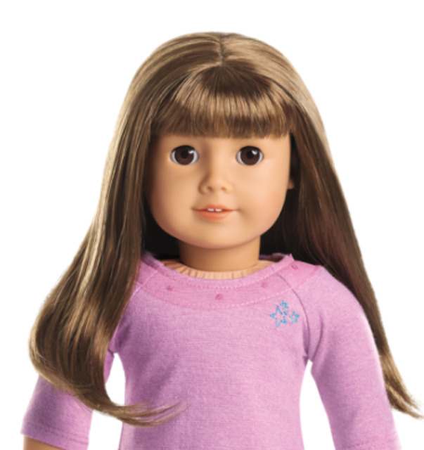 American Girl Doll Wig Authentic Truly Me 7 / 13 / 19