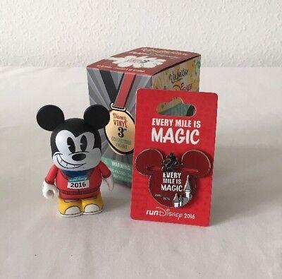 NEW Disney Pins Marathon Run 2016 Run Disney Mickey Mouse Every Mile is Magic